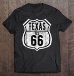 Texas US 66 Historic Route 66 Historic Route 66 Texas Texas US 66 T Shirt