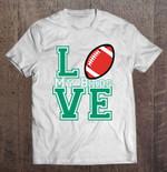 Love My Birds Philadelphia Eagles Football T Shirt