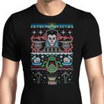 Bustin X-Mas Sweater Graphic Arts T Shirt