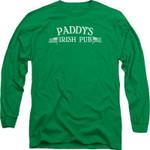 Paddy's Irish Pub It's Always Sunny In Philadelphia Long Sleeve Shirt 2000S TV SHOWS T Shirt