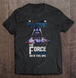 Autism Warrior The Force Is Strong With This One - Star Wars STAR WARS T Shirt
