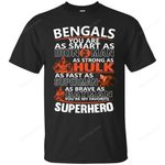 Cincinnati Bengals You're My Favorite Super Hero T Shirts bestfunnystore.com T Shirt