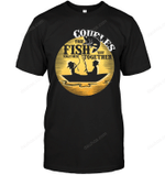 Couples That Fish Together Stay Together Fishing T Shirts bestfunnystore.com T Shirt