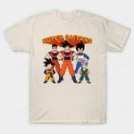 Super Saiyans T-Shirt Anime Dragon Ball Dragon Ball Z Goku Manga Parody Super Friends Vegeta T Shirt