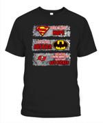 Justice league Buccaneers NFL Tampa Bay Buccaneers T Shirt