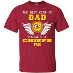 The Best Kind Of Dad Kansas City Chiefs T Shirts bestfunnystore.com T Shirt