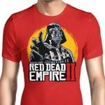 Red Dead Empire II Graphic Arts T Shirt