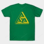 The Impossible Triforce T-Shirt Legend of Zelda Nintendo Parody penrose triangle Triforce Video Game T Shirt