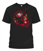 Creepy Helmet 49ers NFL San Francisco 49ers T Shirt