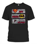 Justice league Falcons NFL Atlanta Falcons T Shirt