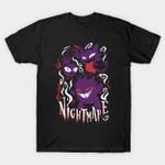 Haunting night T-Shirt Anime Gengar Nightmare Nintendo Pokemon Video Game T Shirt