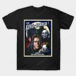 King of Horror T-Shirt Carrie clown Horror IT Mashup movie Pennywise the Clown Pet Semetary Salem's Lot Stephen King Stephen King's IT vampire T Shirt