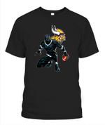 Black Panther Vikings NFL Minnesota Vikings T Shirt