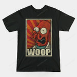 WOOP! T-Shirt Cartoon Futurama TV Zoidberg T Shirt
