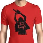 Free Hugs Graphic Arts T Shirt