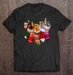 Christmas Stockings Lady And The Tramp Dogs Version dog Jock Lady Lady And The Tramp merry christmas Peg Stocking Tramp Trusty T Shirt
