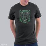 Titan Legion T-Shirt Anime Attack on Titan T Shirt