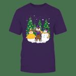 LSU Tigers - Xmas - Mascot - Snowman - IF82-IC82-DS38 LSU Tigers T Shirt