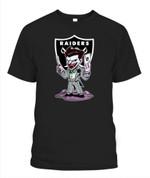 Chibi Joker Raiders NFL Oakland Raiders T Shirt