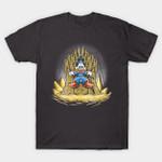 Gold throne T-Shirt Cartoon Disney DuckTales Game of Thrones Iron Throne Parody Scrooge McDuck T Shirt