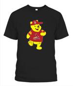 Winnie the Pooh St Louis Cardinals MLB St Louis Cardinals T Shirt
