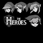 The Heroes T-Shirt anime T Shirt