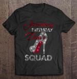 January Birthday Diva's Squad Birthday T Shirt