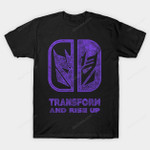 Decepticons Switch T-Shirt Cartoon logo Nintendo Switch Parody Transformers TV T Shirt