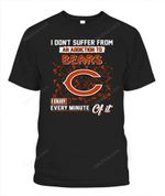 I don't suffer from an addiction to Bears NFL Chicago Bears T Shirt