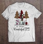 It's The Most Wonderful Time Of The Year Plaid Nightmare Before Christmas Christmas Sweater NIGHT BEFORE CHRISTMAS T Shirt