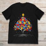 Christmas Autism Awareness T Shirt Christmas gmc_created T Shirt