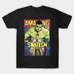 Post Punk Smash T-Shirt band Hulk Marvel Comics Morrissey music Superhero The Incredible Hulk The Smiths T Shirt