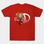 Super Cute Witch T-Shirt Marvel Comics Scarlet Witch Superhero Wanda Maximoff T Shirt