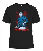 Jason Voornees Lions You don't scare me NFL Detroit Lions T Shirt