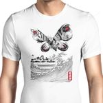 The Rise of the Giant Moth Graphic Arts T Shirt