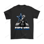 Dallas Cowboys x Deadpool Fuck You And Love You NFL Shirts Dallas Cowboys Deadpool football marvel NFL T Shirt