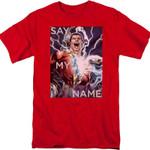 Say My Name Shazam DC Comics T-Shirt DC COMICS SHIRTS movie T Shirt