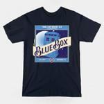 BLUE BOX BREWING T-Shirt Doctor Who TARDIS TV T Shirt