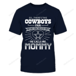 Dallas Cowboys - This son tackled Mommy's heart NFL Dallas Cowboys 2 T Shirt
