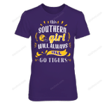 LSU Tigers - This Girl Will Always Yell LSU Tigers T Shirt