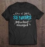 Class Of 2017 Seniors Mischief Managed Class Of 2017 Harry Potter Mischief Managed Seniors T Shirt