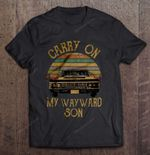 Carry On My Wayward Son Vintage Supernatural Supernatural Vintage Supernatural Wayward Son T Shirt