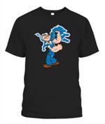 Drink Lions NFL Detroit Lions T Shirt
