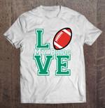 Love My Birds Philadelphia Eagles Sport T Shirt
