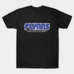 Flynn's Arcade T-Shirt Flynn's Arcade logo movie Parody Sega Tron T Shirt
