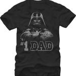 Darth Vader #1 Dad T-Shirt 80s Movie T Shirt