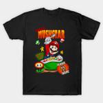 Mario Bros Cereal T-Shirt breakfast cereal Mario Nintendo Parody Super Mario Bros Video Game T Shirt
