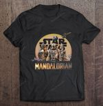 Star Wars The Mandalorian Mashup Poster Mashup Poster Star Wars The Mandalorian T Shirt