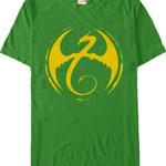 Logo Iron Fist T-Shirt MARVEL COMICS SHIRTS movie T Shirt