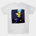The Blue Haired Genius T-Shirt Anime Bulma Dragon Ball Dragon Ball Z Manga T Shirt